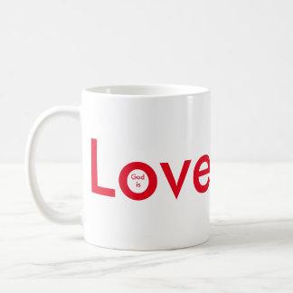 Caneca De Café O deus é amor