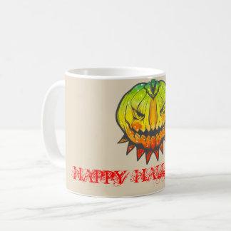 Caneca De Café O Dia das Bruxas feliz