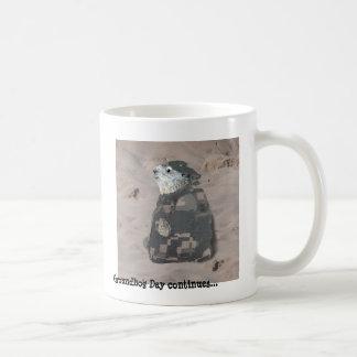 Caneca De Café O dia de Groundhog continua…