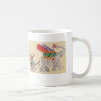 Caneca De Café O dia móvel dos elefantes