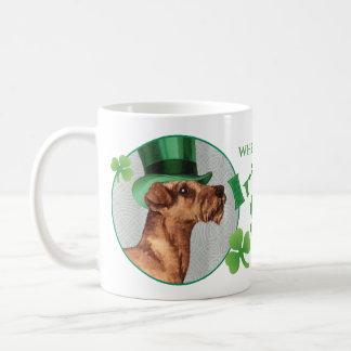 Caneca De Café O dia Terrier irlandês de St Patrick