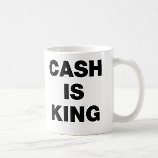 Caneca De Café O dinheiro é rei