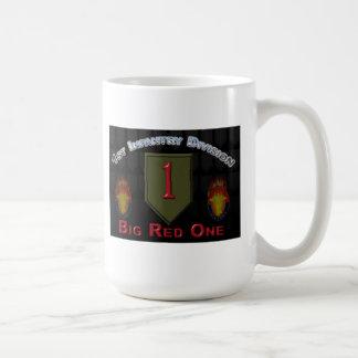 Caneca De Café ø Divisão de infantaria - o vermelho grande um