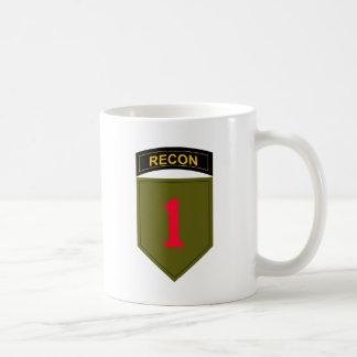 Caneca De Café ø Divisão de infantaria Recon