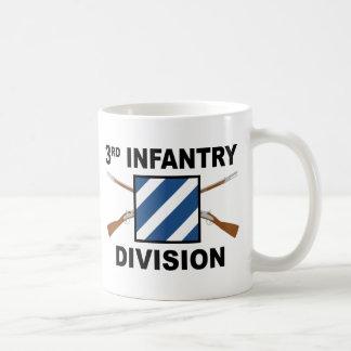 Caneca De Café ó Divisão de infantaria - rifles cruzados - com