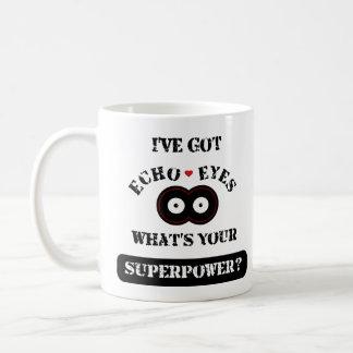 Caneca De Café O eco Eyes Superpower2
