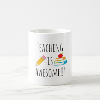 Caneca De Café O ensino é impressionante
