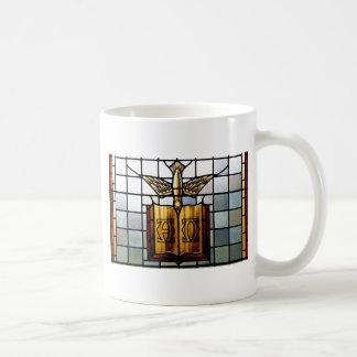 Caneca De Café O Espírito Santo Jesus é alfa e Omega