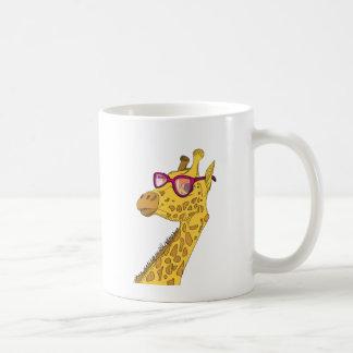 Caneca De Café O girafa do hipster
