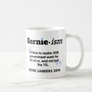 Caneca De Café O governo de Bernie.ism para tudo