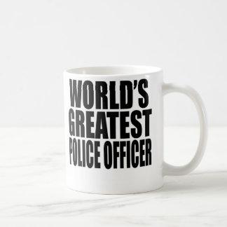 Caneca De Café O grande agente da polícia do mundo