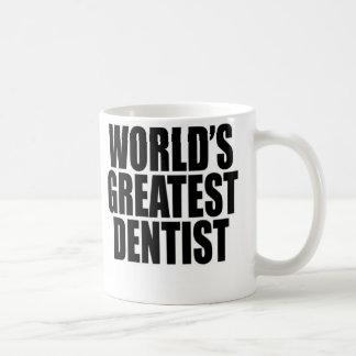 Caneca De Café O grande dentista do mundo