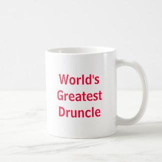 Caneca De Café O grande Druncle do mundo
