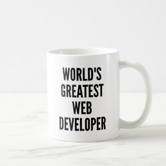 Caneca De Café O grande programador web dos mundos