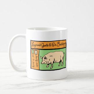 Caneca De Café O guia do leigo ao talho da carne de porco