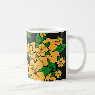 Caneca De Café O hibiscus floresce #3