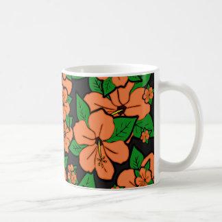 Caneca De Café O hibiscus floresce #5