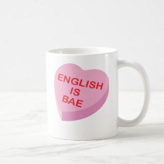 Caneca De Café O inglês é dia dos namorados engraçado do