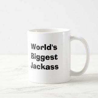 Caneca De Café O Jackass o mais grande do mundo
