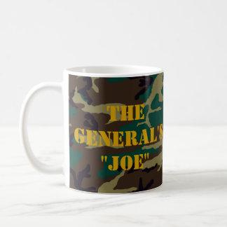 """Caneca De Café O """"Joe """" do general"""