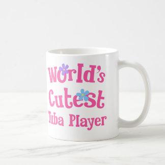 Caneca De Café O jogador o mais bonito da tuba dos mundos