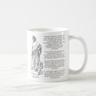 Caneca De Café O juramento de Asclepius (Hippocrates)