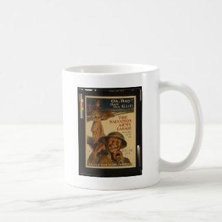 Caneca De Café O Lassie do exército de salvação