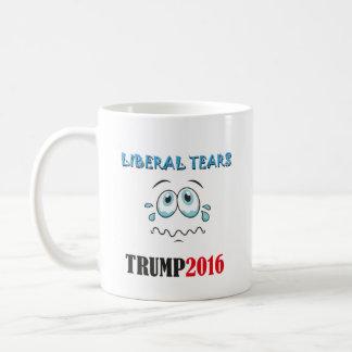 Caneca De Café O liberal da bebida rasga a CANECA! TRUMP2016