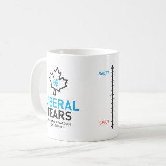 Caneca De Café O liberal rasga o federalista engraçado de Canadá