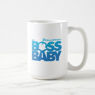 Caneca De Café O logotipo do bebê do chefe