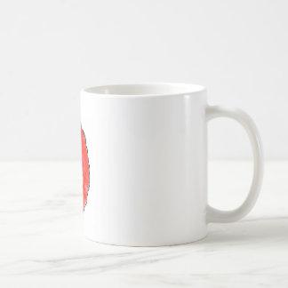 Caneca De Café O magnésio vermelho da cabeça 1g da papoila por