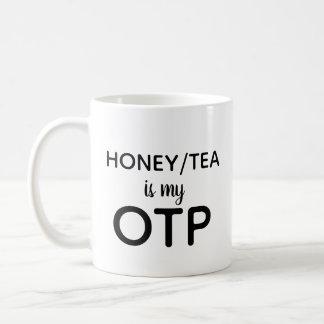 Caneca De Café O mel/chá é meu OTP