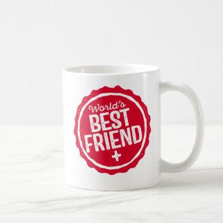 Caneca De Café O melhor amigo do mundo +.