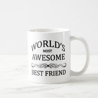 Caneca De Café O melhor amigo o mais impressionante do mundo