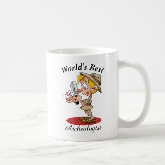 Caneca De Café O melhor arqueólogo do mundo