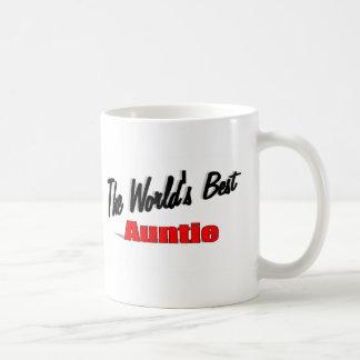 Caneca De Café O melhor Auntie do mundo