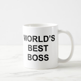 Caneca De Café O melhor chefe do mundo