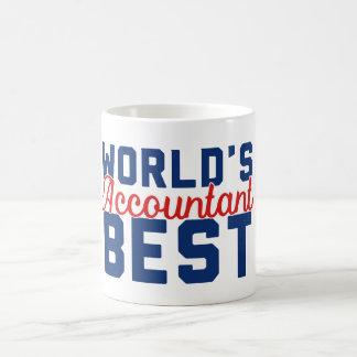 Caneca De Café O melhor contador do mundo