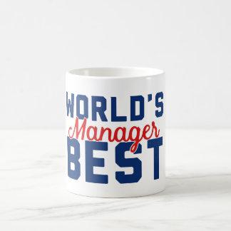 Caneca De Café O melhor gerente do mundo
