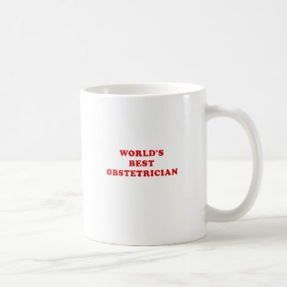 Caneca De Café O melhor ginecologista dos mundos