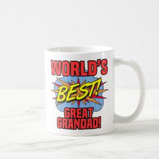 Caneca De Café O melhor grande Grandad do mundo