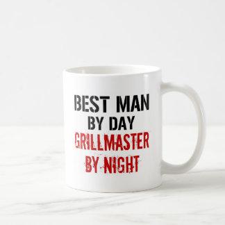 Caneca De Café O melhor homem de Grillmaster
