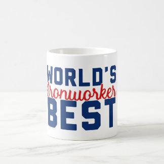 Caneca De Café O melhor Ironworker do mundo