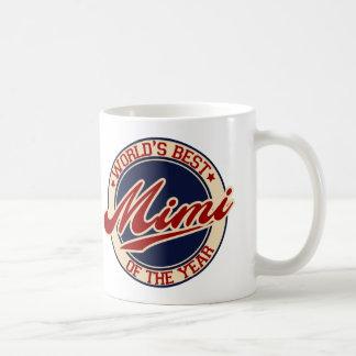 Caneca De Café O melhor Mimi do mundo do ano