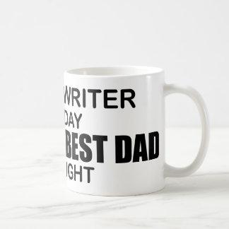 Caneca De Café O melhor pai do mundo - segurador