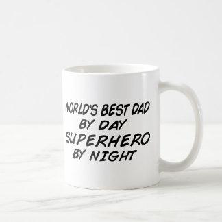 Caneca De Café O melhor pai do mundo - super-herói