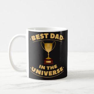 Caneca De Café O melhor pai no universo - presente do dia dos