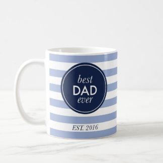 Caneca De Café o melhor pai nunca est. 2016