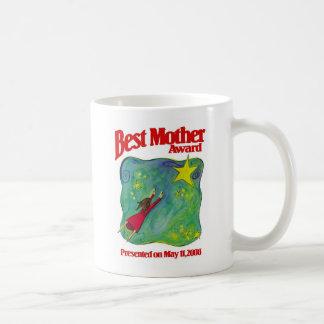 Caneca De Café O melhor prêmio da mãe