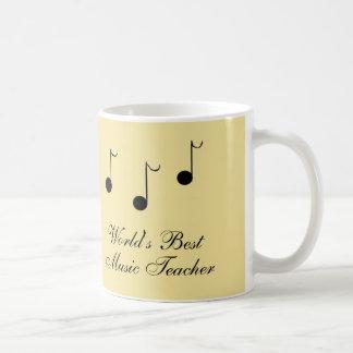 Caneca De Café O melhor professor de música